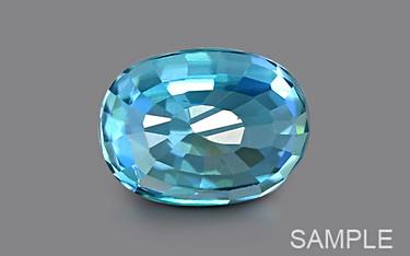 Blue Zircon - Luxury