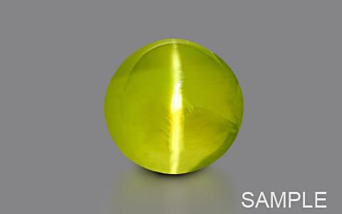 Yellow-Green Chrysoberyl Cats Eye (Ceylonese) - Super Luxury