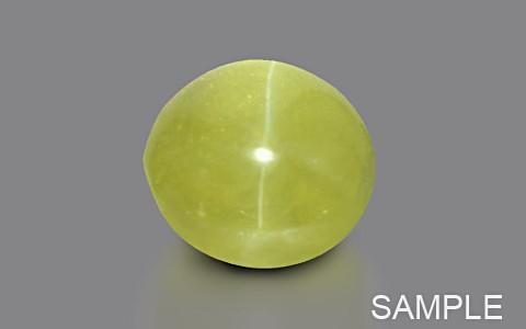 Yellow-Green Chrysoberyl Cats Eye (Ceylonese) - Super Premium