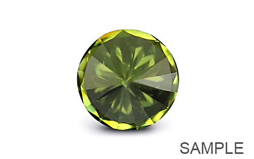 Cubic Zirconia - Apple Green