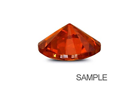 Cubic Zirconia - Orange