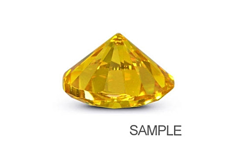 Cubic Zirconia - Yellow