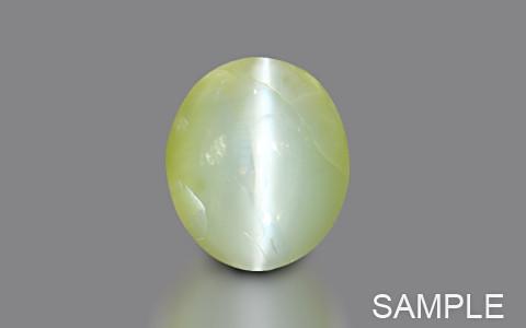 Green Chrysoberyl Cats Eye (Ceylonese) - Premium Plus