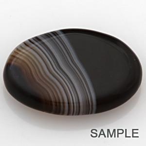 Striped Onyx (Chalcedony) - Premium
