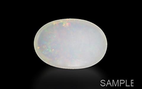 White Opal with Fire - Premium (Ethiopia)