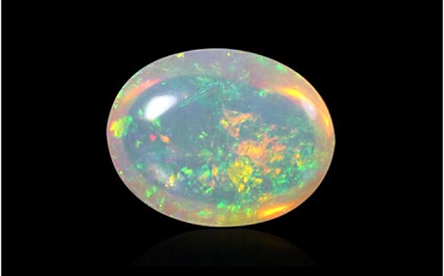 White Opal with Fire - Super Luxury (Ethiopian)