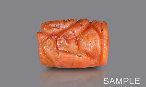 Red Coral Ganesha - Economy