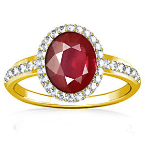 Ruby (Thailand) Panchdhatu Ring (R1-Dazzle)