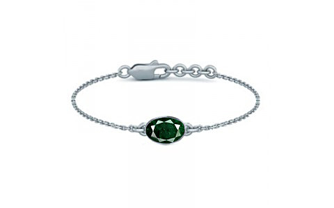 Aventurine Sterling Silver Bracelet (B2) for Women