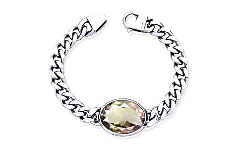 Ametrine Silver Bracelet (B1)