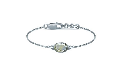 Pitambari Neelam Sterling Silver Bracelet (B2) for Women