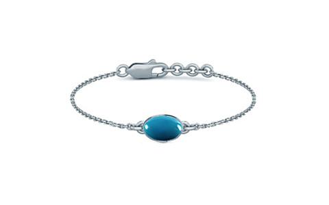 Turquoise Sterling Silver Bracelet (B2) for Women