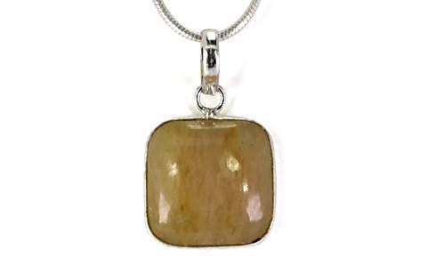 Yellow Aventurine Pendant - 5.4 grams (GP13596)