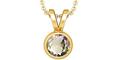 Ametrine Gold Pendant (Design D1)