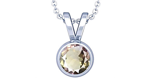 Ametrine Sterling Silver Pendant (Design D1)