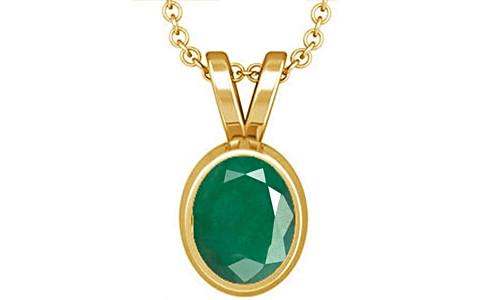Emerald Gold Pendant (D1)