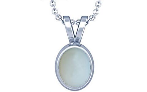 Moonstone Silver Pendant (D1)