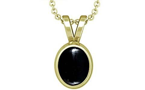 Black Onyx Panchdhatu Pendant (D1)