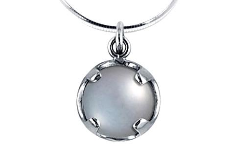 Pearl (Tahiti) Silver Pendant (DP1)