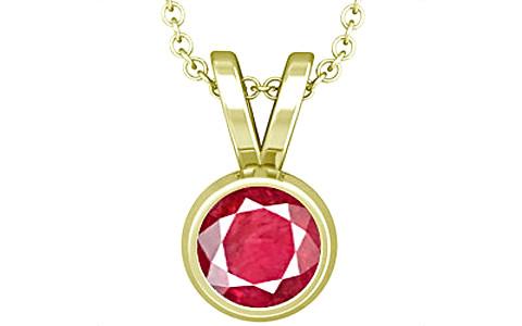 Ruby (Old Burma) Panchdhatu Pendant (D1)