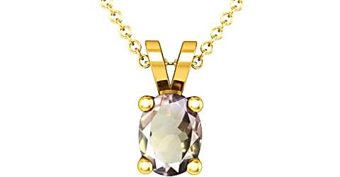 Ametrine Gold Pendant (Design D2)