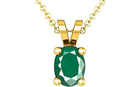 Emerald Gold Pendant (D2)