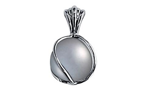 Pearl (Tahiti) Silver Pendant (DP2)