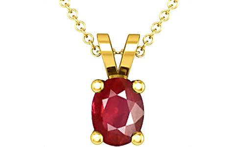 Ruby Gold Pendant (D2)