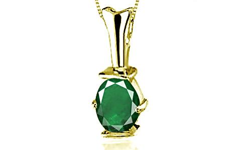Emerald (Zambia) Panchdhatu Pendant (D3)