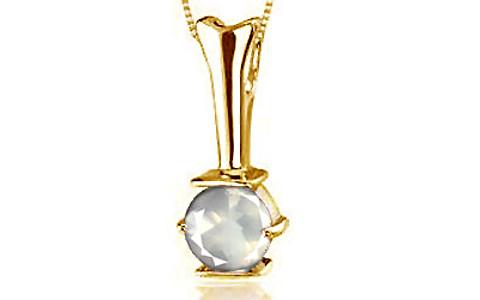 Rose Quartz Gold Pendant (Design D3)