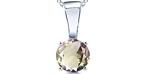 Ametrine Sterling Silver Pendant (Design D4)