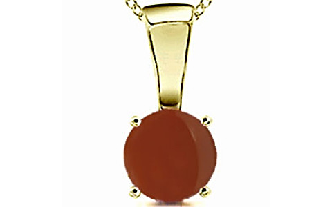 Carnelian Panchdhatu Pendant (Design D4)