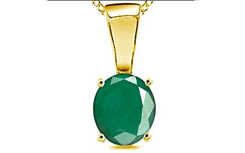 Emerald Gold Pendant (D4)