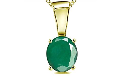 Emerald Panchdhatu Pendant (D4)
