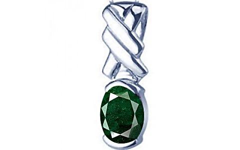 Aventurine Silver Pendant (D5)