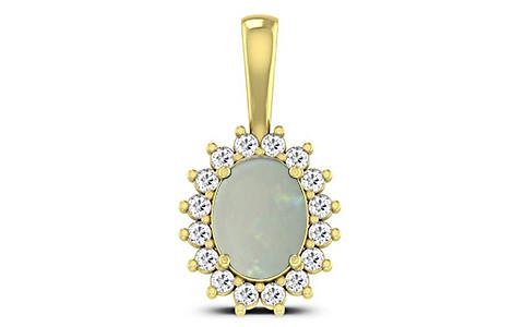 Opal Panchdhatu Pendant (D4 SPARKLE)