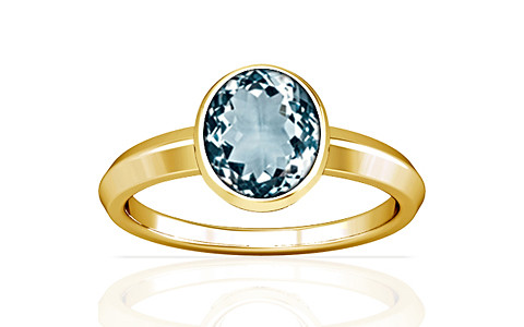 Aquamarine Gold Ring (A1)