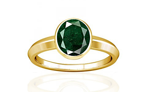Aventurine Gold Ring (A1)