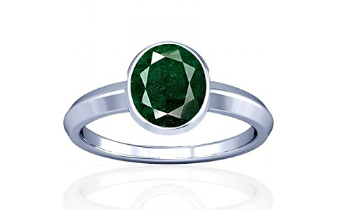 Aventurine Silver Ring (A1)