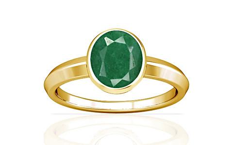 Green Beryl Gold Ring (A1)
