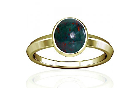 Bloodstone Panchdhatu Ring (A1)
