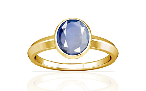 Blue Sapphire Gold Ring (A1)