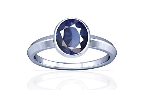 Blue Sapphire (Thailand) Silver Ring (A1)