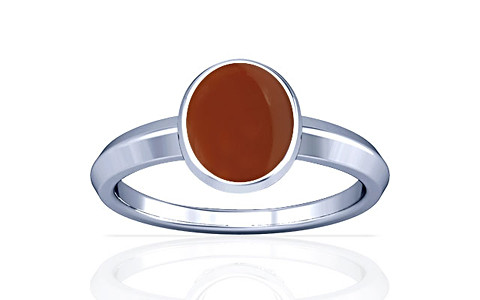 Carnelian Sterling Silver Ring (A1)