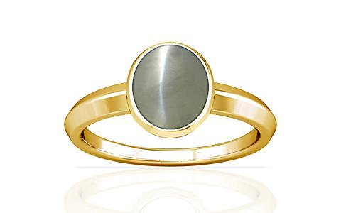 Chrysoberyl Cats Eye Gold Ring (A1)