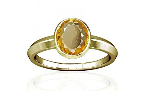 Citrine Panchdhatu Ring (A1)