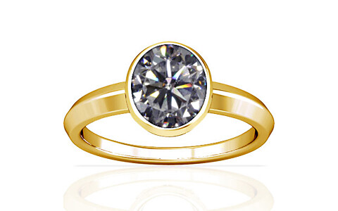 Cubic Zirconia Gold Ring (A1)