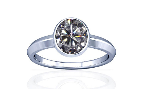 Cubic Zirconia Silver Ring (A1)