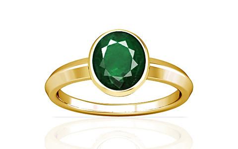 Emerald (Zambia) Gold Ring (A1)
