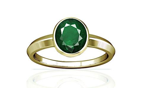 Emerald (Zambia) Panchdhatu Ring (A1)